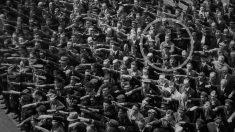 August  Landmesser no saludó a Hitler