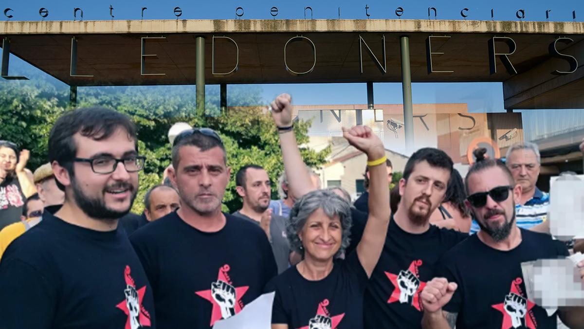 Los 9 de Lledoners encausados por agredir a los mossos