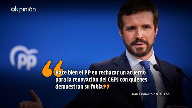 Renovación del CGPJ: por un veto constructivo