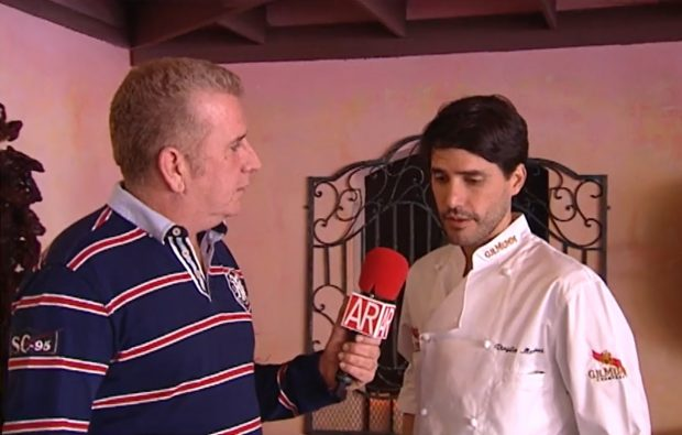 Paco Blanco durante su etapa en 'El programa de Ana Rosa'