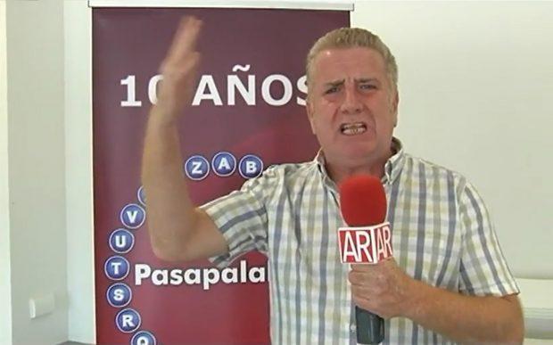 Paco Blanco en una de sus intervenciones en Telecinco