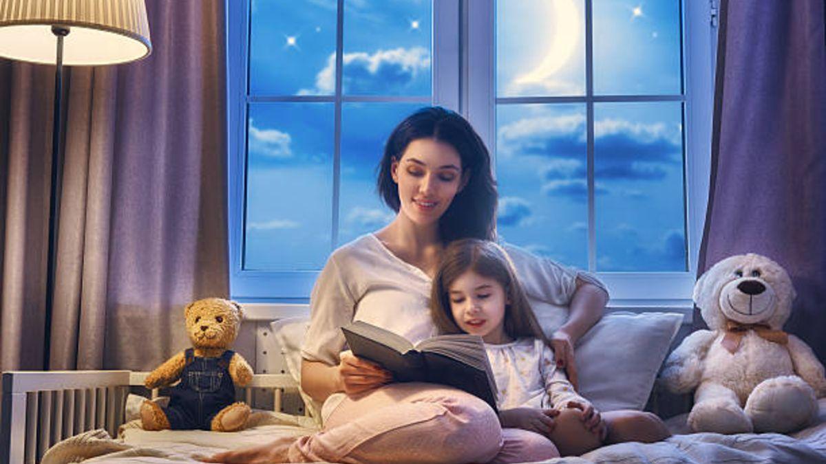 Leer cuentos a los niños es la mejor manera de conseguir que se duerman