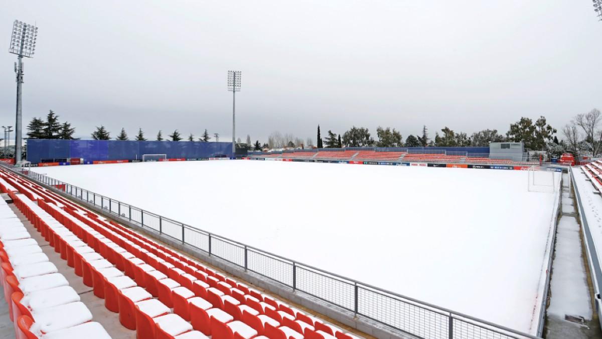 El Cerro del Espino, campo de entrenamiento del Atlético de Madrid.