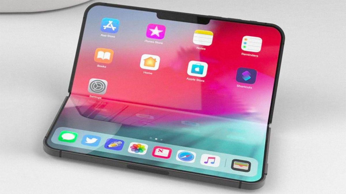 Descubre cómo podría ser el iPhone plegable de Apple