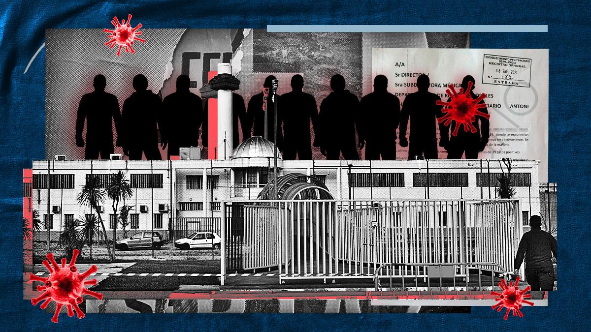 Detectados 52 positivos de Covid en la cárcel de Picassent.