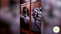 Pelea a pedradas entre inmigrantes ilegales en un campamento de Gran Canaria