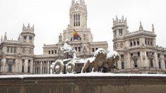 Borrasca Filomena en Madrid