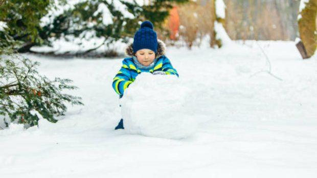 Borrasca Filomena y niños: Cómo vestirse y pautas para salir a jugar con la nieve