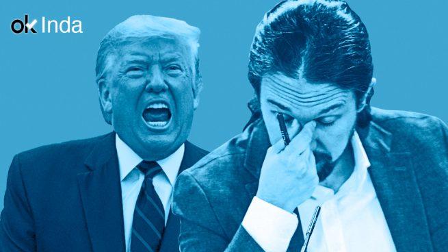 El 'tejerazo' de Iglesias es bueno, el de Trump, malo