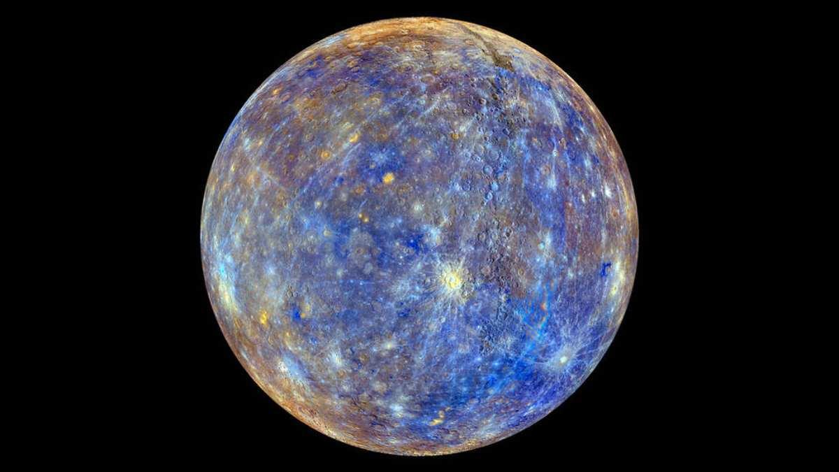 Formación de hielo en Mercurio