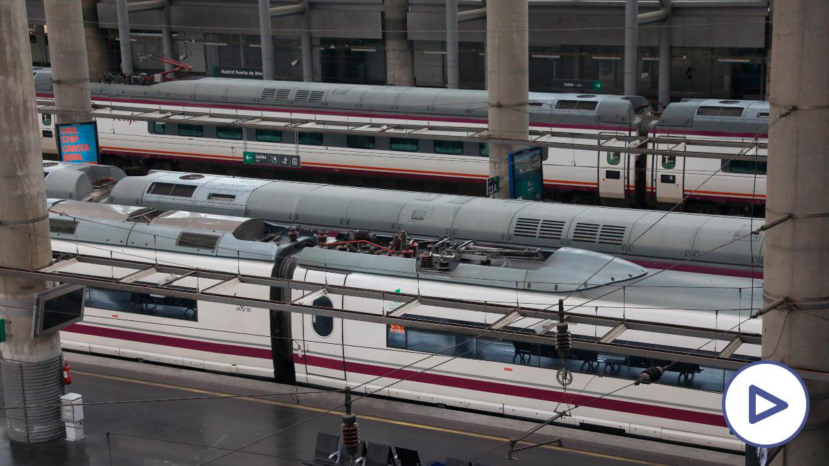 Renfe cancela todos los servicios ferroviarios con origen y destino a Madrid programados para este sábado