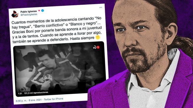 Iglesias comenta discos de Barricada mientras Casado y Almeida ayudan a los afectados por el temporal