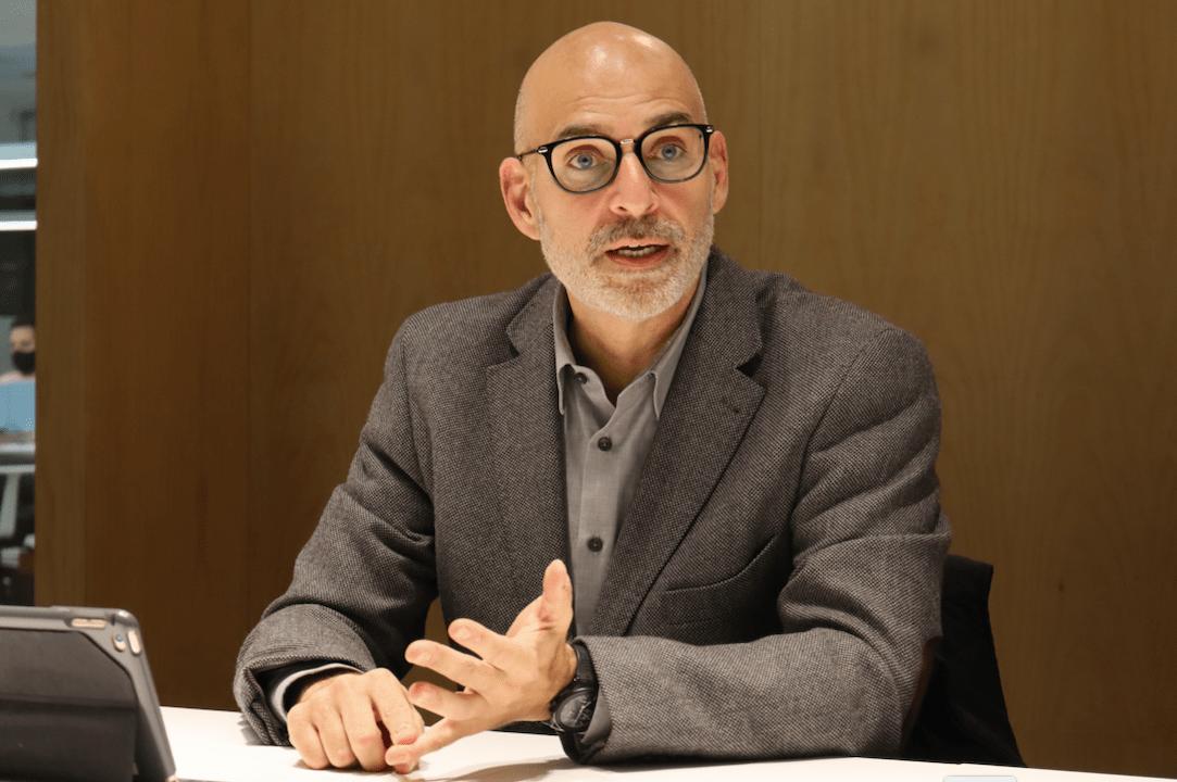 Guillermo Bell, presidente de Grupo 5. @OKDIARIO