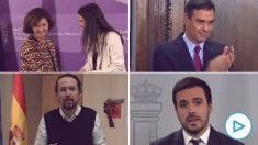 Enésima crisis de la coalición: Podemos lanza una campaña para culpar al PSOE de la subida de la luz.