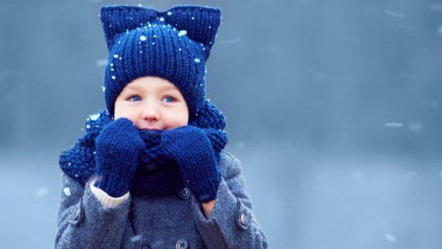 ola de frío niños