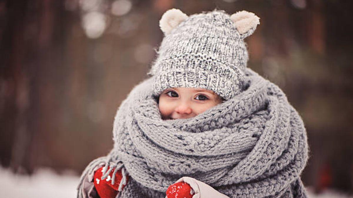 De qué manera proteger a los niños de la ola de frío extremo que llega