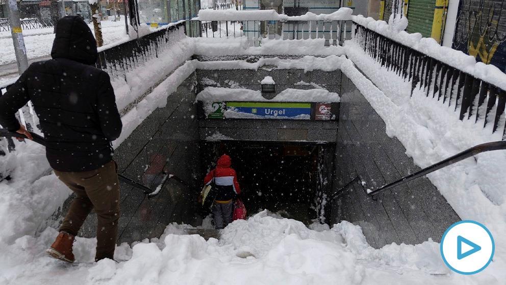 El Metro ha sido fundamental para mantenar la movilidad en Madrid.
