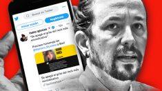 El último tuit de Pablo Iglesias.