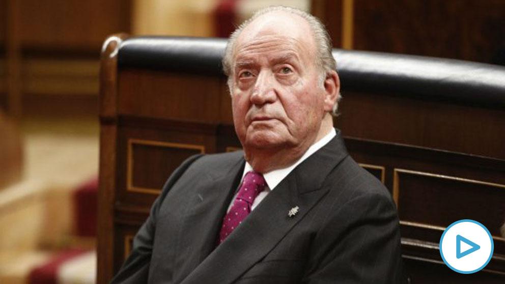Imagen de archivo del Rey emérito Juan Carlos I en el Congreso de los Diputados. (Foto: Europa Press)