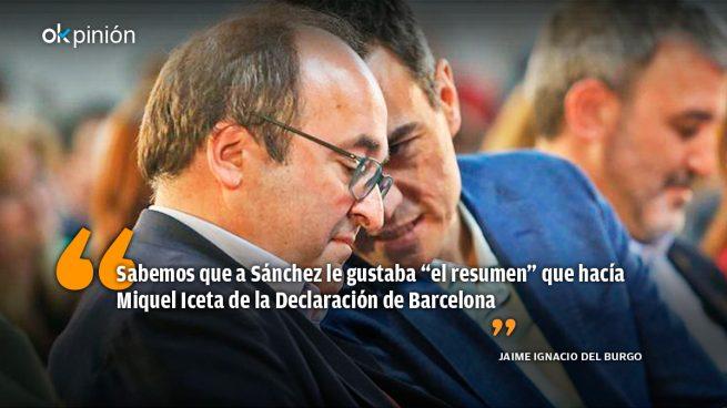 Iceta, un ministro para la deconstrucción de España