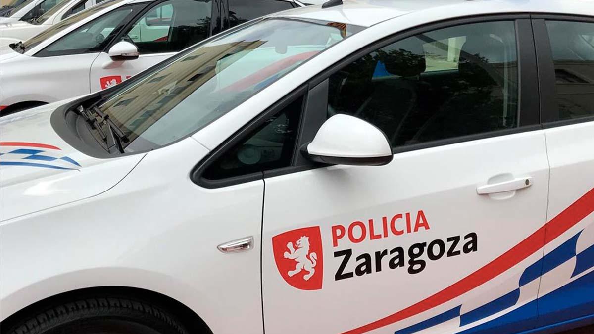 Imagen de archivo de un coche de la policía de Zaragoza