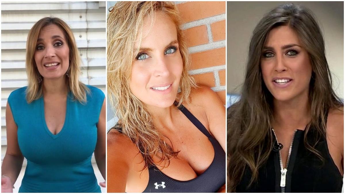 Rocío Martínez, Angie Rigueiro y Alba Dueñas.