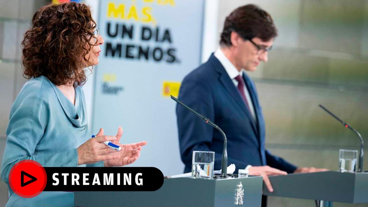 Rueda de prensa tras el Consejo de Ministros, streaming en directo.