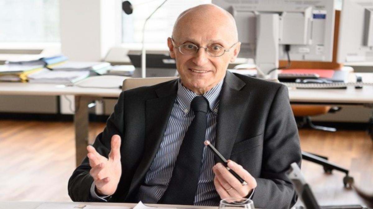 Andrea Enria, presidente del Consejo de Supervisión del BCE y supervisor de la banca española