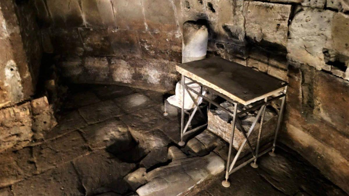 La Cárcel Mamertino en Roma