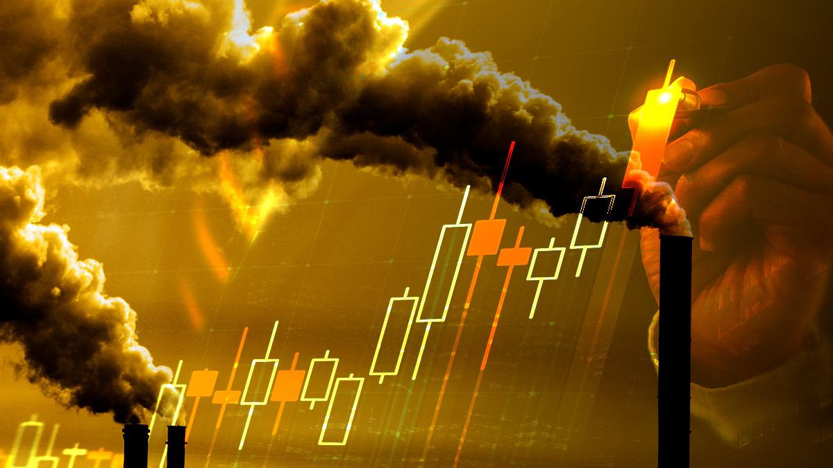Las subastas de CO2 marcan un récord histórico por cada tonelada de dióxido de carbono.