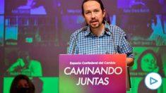El vicepresidente segundo y líder de Podemos, Pablo Iglesias. (Foto: Europa Press)