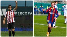 Barcelona y Athletic Club se enfrentarán en la final de la Supercopa. (AFP / Getty)