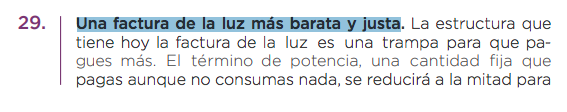 La amnesia de Iglesias y Echenique: así prometía Podemos en su programa bajar el IVA de la luz al 10%