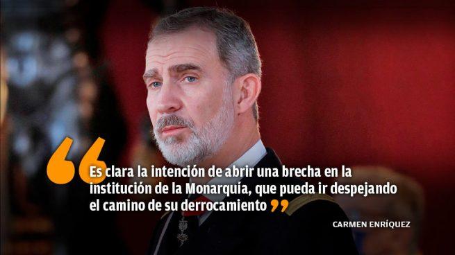El fracaso de un nuevo intento de Podemos de abrir una brecha contra la Corona