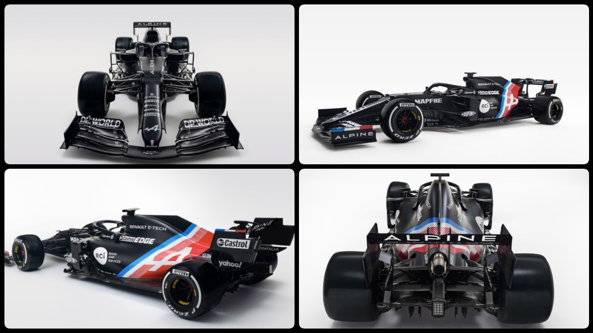 Así es el Alpine A521, el coche de Fernando Alonso en su regreso a la Fórmula 1