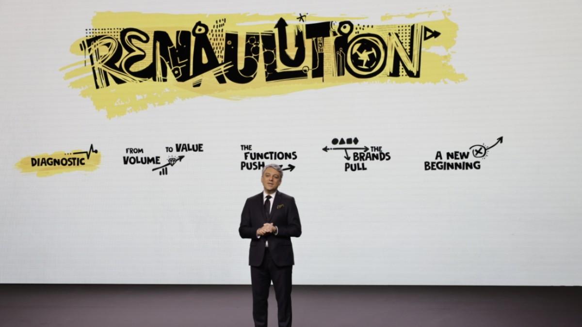 El consejero delegado del grupo automovilístico Renault, Luca de Meo