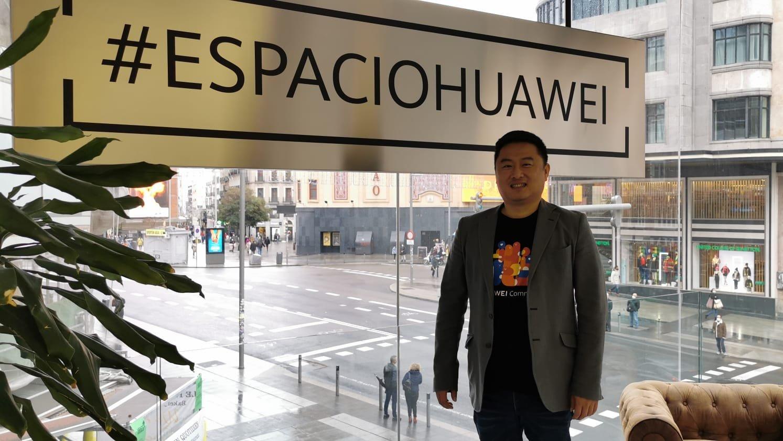 El ex número 2 de la compañía Huawei en España, Pablo Wang.