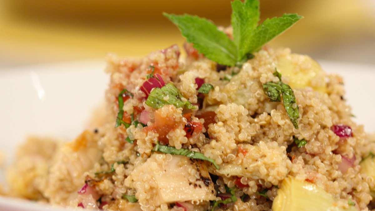 Receta de pollo con quinoa