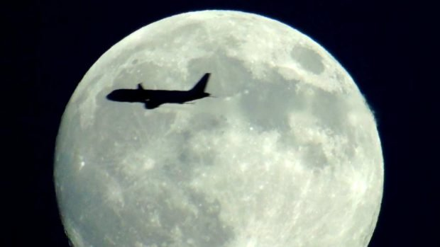 Avión al espacio