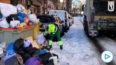 Madrid ya recoge la basura