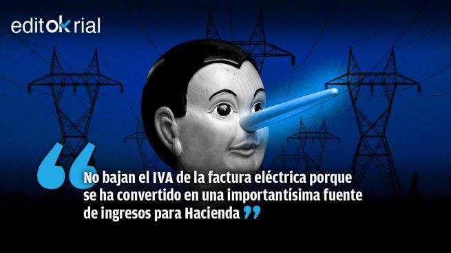 Pinocho Sánchez: cuando miente se le enciende la nariz