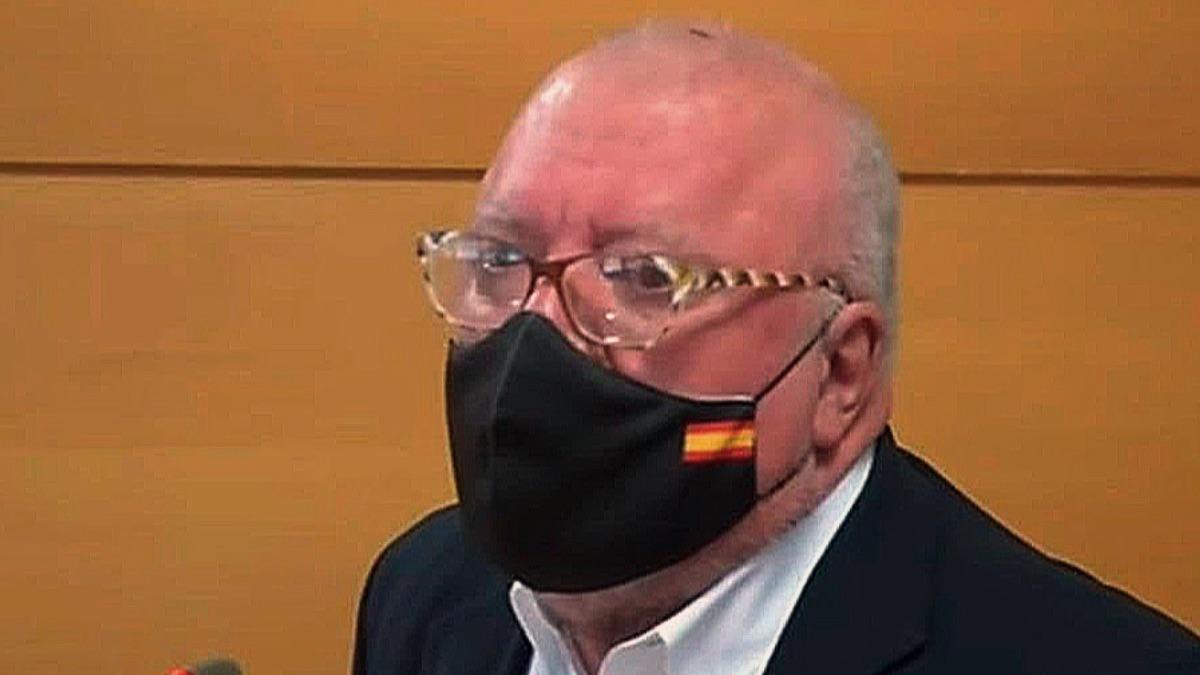 El ex comisario José Villarejo declara en un juicio.