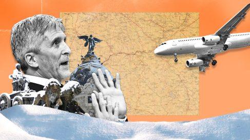 Interior ha seguido permitiendo llegadas de aviones con inmigrantes ilegales a Madrid pese a los efectos de Filomena en el aeropuerto de Barajas.