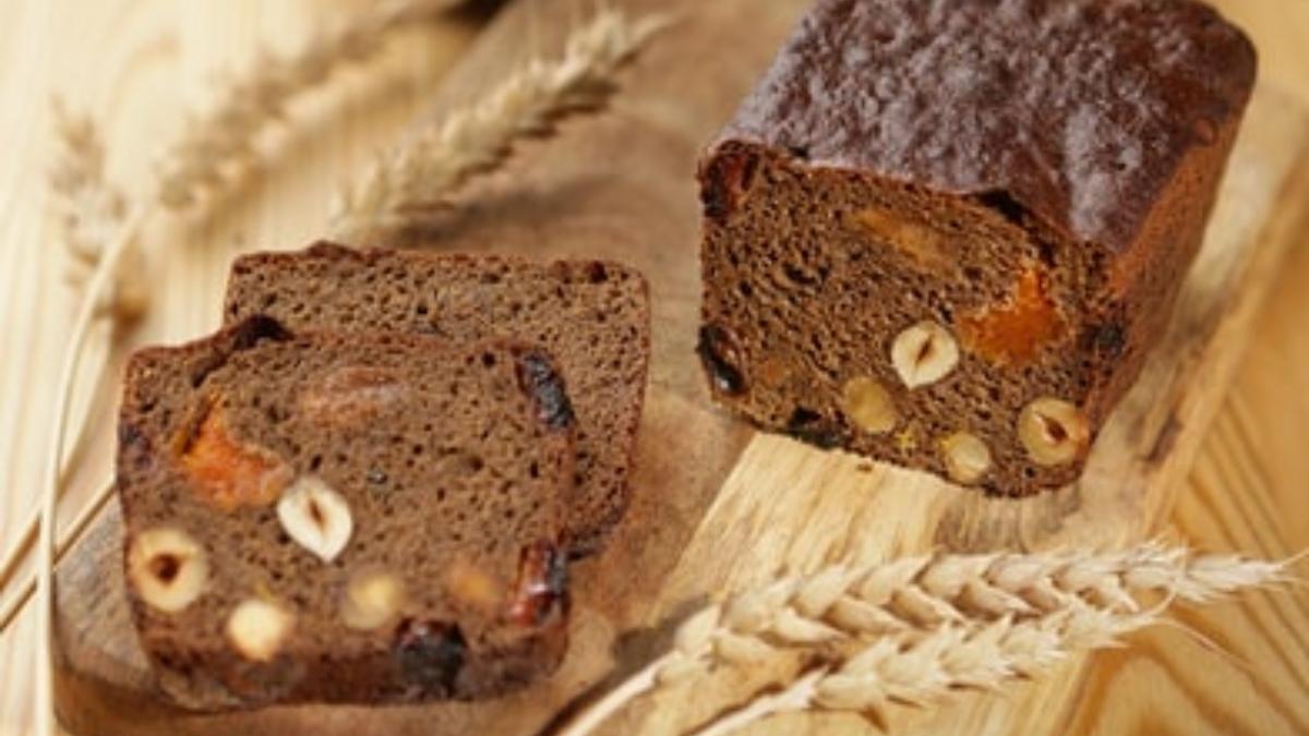 Pan de chocolate y avellas
