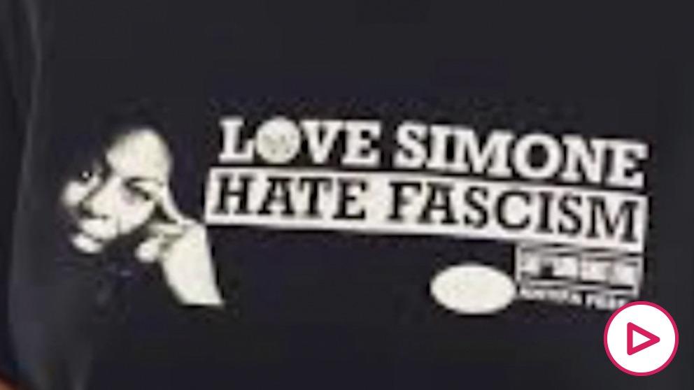 La camiseta reivindicativa de Guardiola.