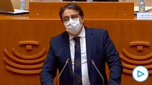 El consejero de Sanidad de Extremadura, José María Vergeles.
