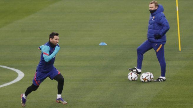 Todos pendientes de Messi