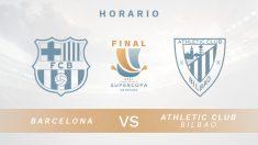 Barcelona – Athletic de Bilbao: final de la Supercopa de España.