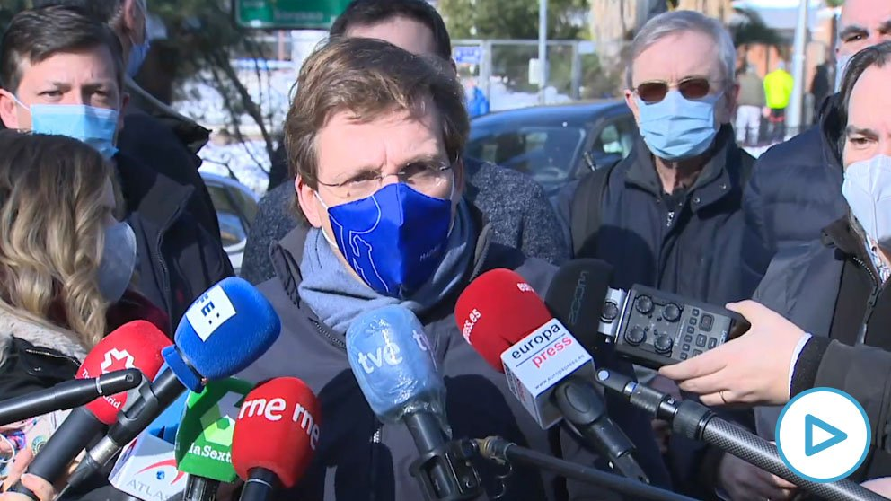 Almeida critica las «filtraciones» del Gobierno de Sánchez sobre la declaración de zona catastrófica