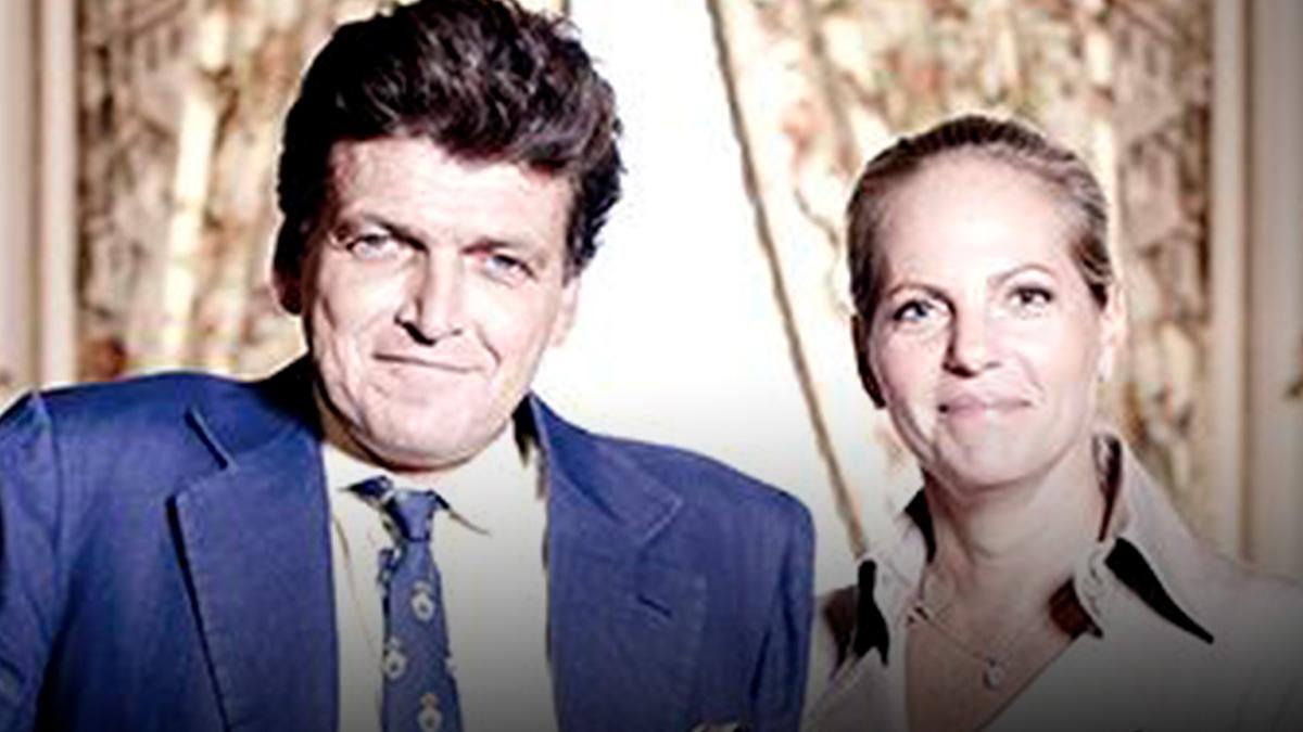 El faBenjamin de Rothschild junto a Ariane Rothschild